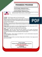 Navarro College Paramedic Quickfacts