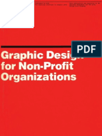 Vignelli Graphic Design Non-Profit