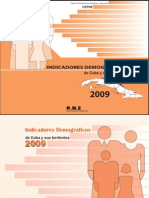 Cuba Demographic Indicators 2009