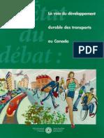 Le voie du développement durable des transports au Canada