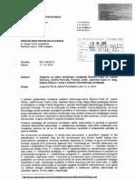 Hidravlično drobljenje - odgovor ministra Bogoviča - 22.10.2012