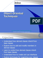 Object Oriented Techniques