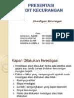Ppt Acu Investigasi