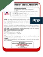 Navarro College EMT Quickfacts