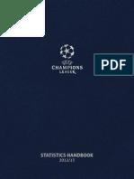 Uefa Champions League Statistic Book Uefa Champions League