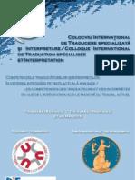 Colocviu International de Traducere Specializata Si Interpretare Timisoara 20101