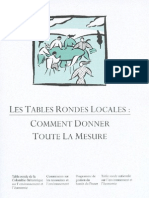 Les tables rondes locales