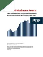 240.000 Marijuana Arrests in Washington