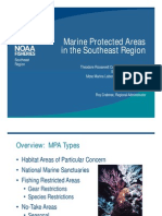 Marine Protected Areas in the Southeast