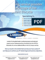 Landon IP AIPLA 2012 Conference Program Ad