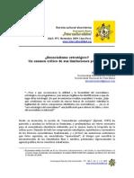 Esencialismo Estrategico Mattio,Eduardo