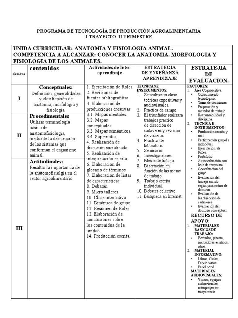 Anatomia y Fisiologia Animal, i Trayecto.doc