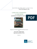 Lifelong Learning and Libraries