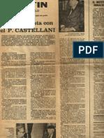 La Misa en latín, pero de cara al pueblo