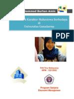 Makalah 2 - MEMBENTUK KARAKTER MAHASISWA BERBUDAYA DI UNIVERSITAS GUNADARMA
