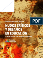 Documento Nudos Criticos en Educacion