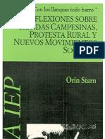 STARN Oris - Reflexiones Sobre Rondas Campesinas, Protesta Rural y Nuevos Movimientos Sociales