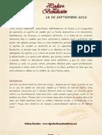 Bendiciones 18 de Septiembre 2012