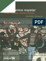 STROCKA Cordula - Unidos nos hacemos respetar. Jóvenes, identidades y violencia en Ayacucho