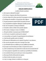 ORACIONES SIMPLES PARA ANALIZAR (III)