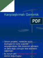 Karşılaştırmalı Genomik