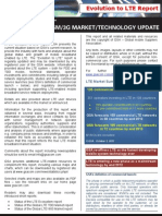GSA Evolution to LTE Report 011012 2