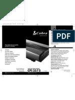 Cobra CPI2575 Inverter MANUAL