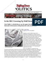 Is the SEC Covering Up Wall Street Crimes Rolling Stone Magazine