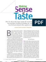 Making Sense of Taste