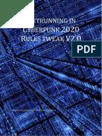 Netrunning in Cyberpunk 2020 Tweaks V2.0