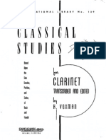 Classical Studies Bach - H. Voxman
