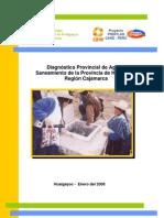 Consolidado Provincial Del Diagnostico de Agua y Saneamiento Hualgayoc