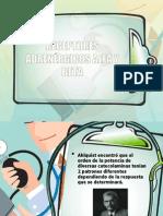 RECEPTORES ADRENÉRGICOS ALFA Y BETA
