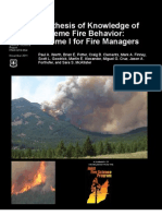 Extreme Fire Behavior