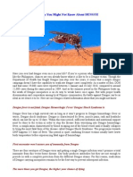 6 Things You Might Not Know About DENGUE