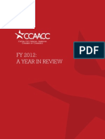 CCAACC Year in Review 2012