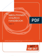 The Abolitionist Chuch Handbook _ Not for Sale