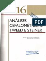 16 Anlises Cefalomtricas Tweed e Steiner