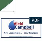 Vicki Campbell Car Magnet
