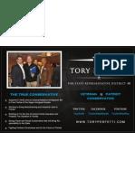Tory Perfetti Magazine Ad