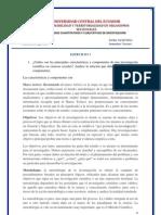 Ejercicio 1 Manual de metodologia en las ciencias sociales