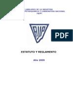 AJIP - Estatutos - Reglamento - 2009