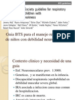 BTS Guideline 2012 for Respiratory Management of Children With Neuromuscular Weakness.1