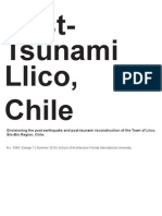 Post-Tsunami, Llico, Chile. Envisioning the post-earthquake and ………………… (2010)