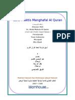 Id Cara Praktis Menghafal Quran