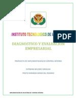 Diagnostico y Evalucion Empresarial Listo!