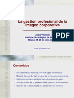 La Gestion Profesional de la Imagen Justo Villafañe