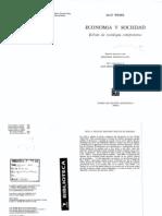 Weber Max_Los Tipos de Dominacion_Economia y Sociedad