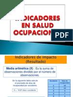 Indicadores en La Gestion Del Riesgo OcupacionalF