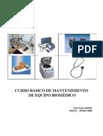 Manual Del Curso de Mantenimiento de Equipo Medico Basico